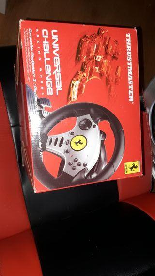 Volante Ferrari PlayStation ,Wii y Pc