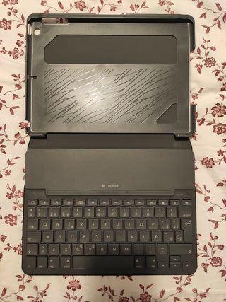 funda teclado Logitech iPad Air