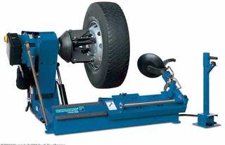 desmontadora ruedas camion tractores monofasica