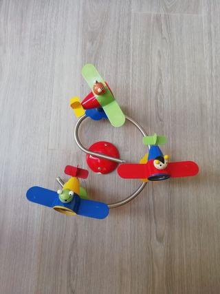 lámpara infantil de aviones