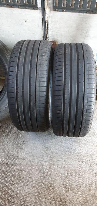 2 neumáticos pirelli al 80% de vida 245/35/20