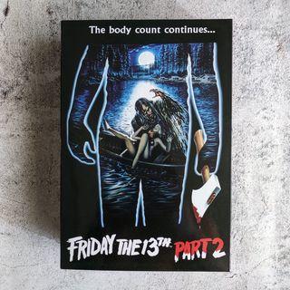 NECA Friday The 13th Part II Jason Voorhees NUEVA