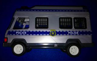 PLAYMOBIL --- FURGON POLICIA (CON LUZ) REF.4023