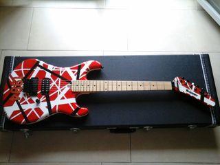 guitarra Kramer 84 reissue customizada van Halen