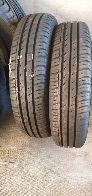 2 neumáticos nuevos 175/80/14 continental