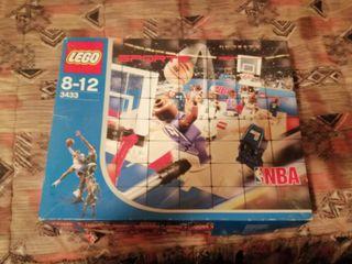 Cancha de baloncesto lego
