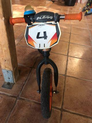 Bicicleta niño KTM