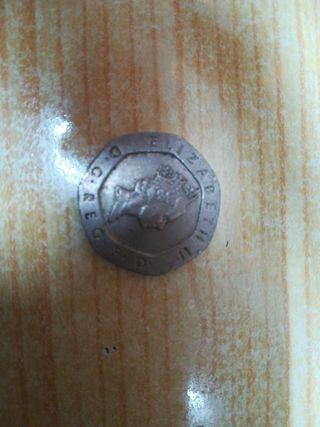 moneda 20 penique