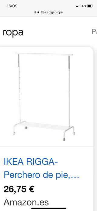 Perchero de IKEA blanco