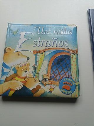 libro infantil en gallego UNS RUIDOS ESTRANOS