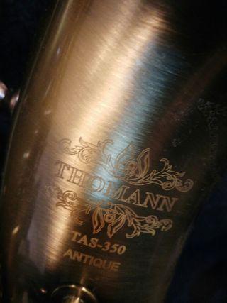 saxofón alto thomann antique