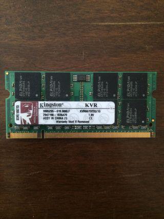 Memoria RAM 1Gb DDR2 GRATIS