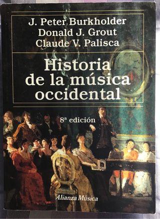 Libro historia de la música occidental