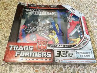 Set escolar Transformers