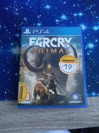 Far cry 5 y Far Cry Primal
