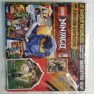 Revista Lego Ninjago Legacy n° 2 + figura + carta