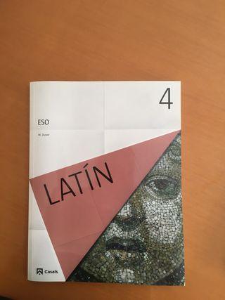 LIBRO LATÍN / 4ESO