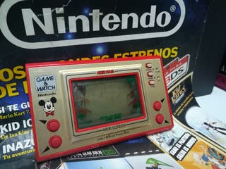 Nintendo GAME Y WATCH Mickey Mouse