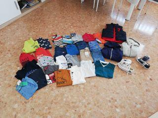 pack ropa niño 6 7 años 30 piezas de ropa