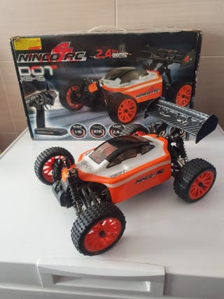 Coche rc ninco 1/16 Brushless y lipo completo