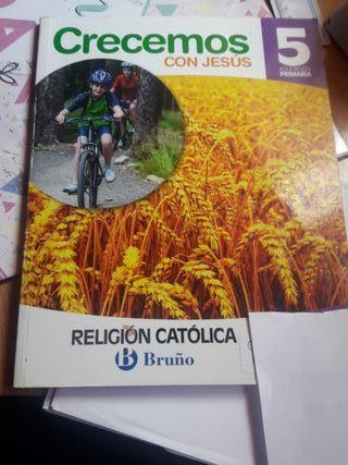 libro Religión Bruño
