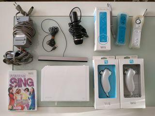 Consola Wii + accesorios