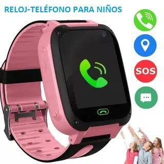 Reloj GPS localizador para niños, tarjeta SIM.