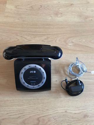 Teléfono inalámbrico retro