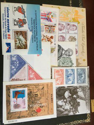Vendo lote sellos.
