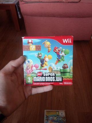 Juego Mario Bros para wii