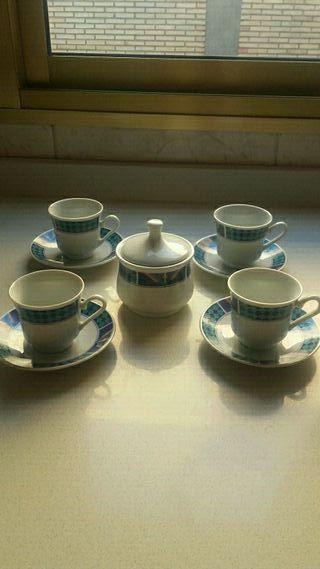 Juego de café de ceramica
