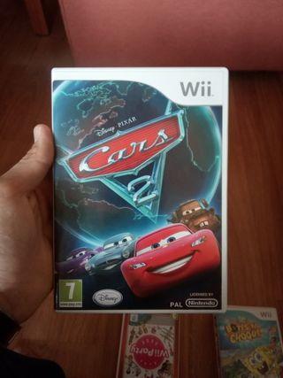 Juego Cars 2 para wii