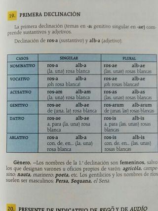 Libro aprender latín 1/2° Bachillerato