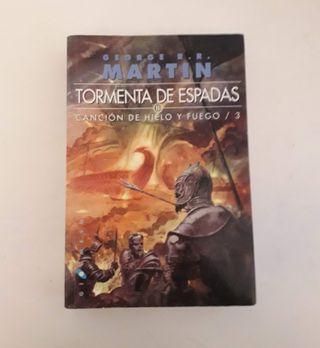 II Parte del libro Tormenta de Espadas.
