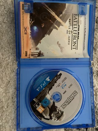 Juego battlefront ps4