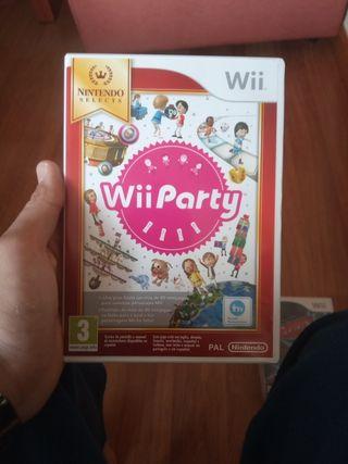 juego Wii party para wii