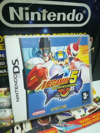 MEGAMAN 5 BATTLE NETWORK DOUBLE TEAM Nintendo DS