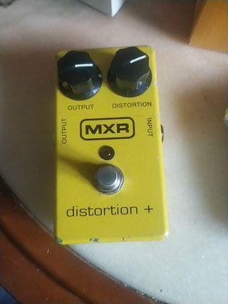 Pedal guitarra MXR distortion +