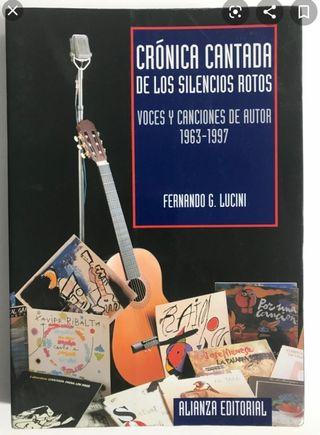 LIBRO - Crónica cantada de los silencios rotos