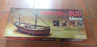 maqueta barco 1820