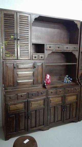 Muebles antiguo, son dos módulos