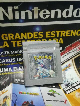 Pokémon edición plata GAME BOY