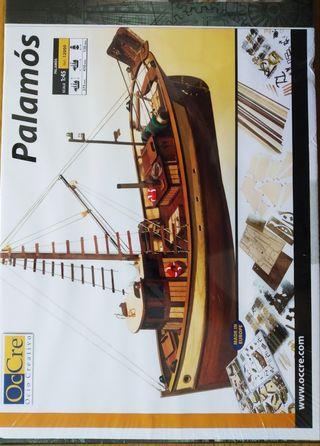 Maqueta barco Palamós
