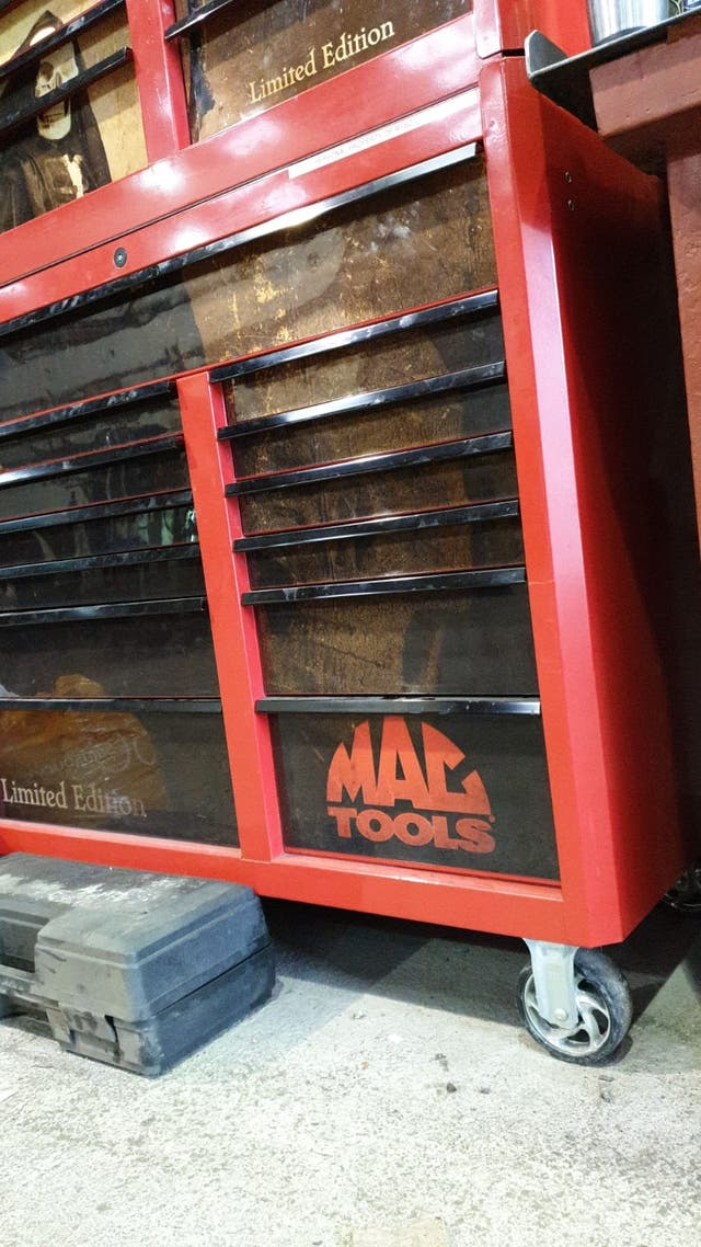 MAC TOOL LIMITED EDITION TOOL BOX