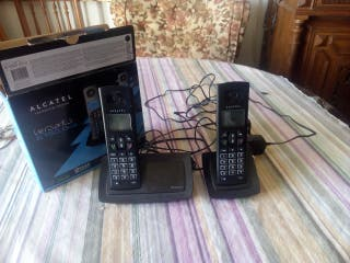 pack teléfono inalámbrico 2 terminales