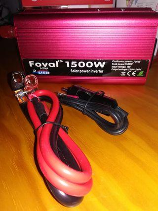 Convertidor de corriente 1500w
