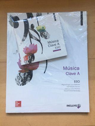 libro musica clave A ESO en castellano mcgraw hill