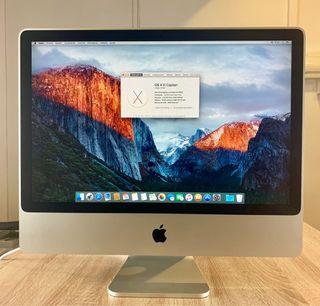 iMac 24 Pulgadas 4GB RAM 320GB HDD