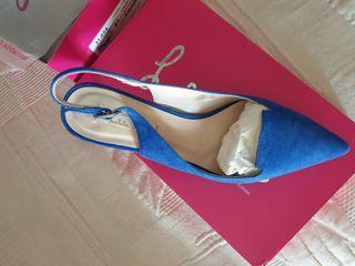 zapatos lolita Blu