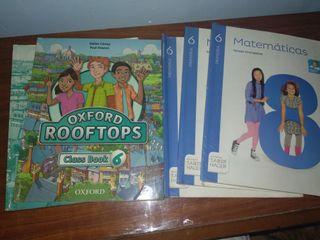 libros de 6 primaria Santillana